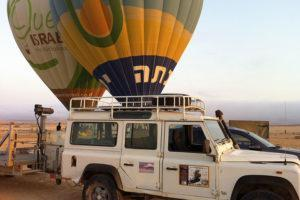 Ballooning in the Negev - Krivine Guesthouse