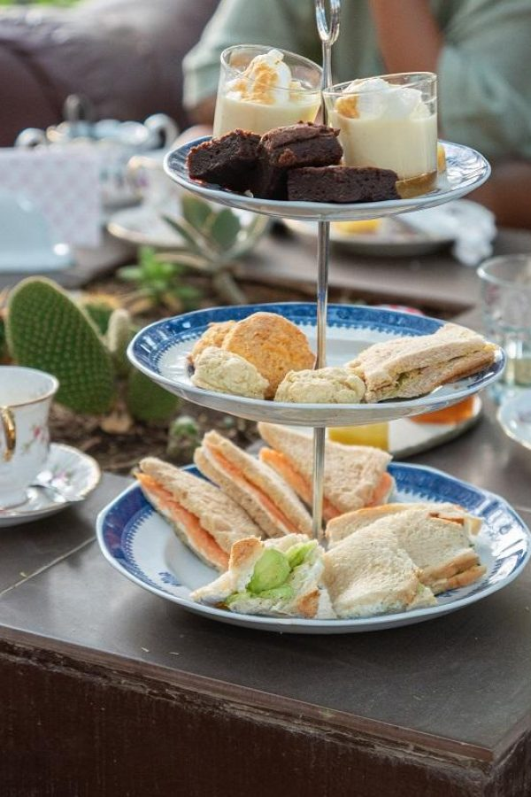 Afternoon Tea Party at Krivine